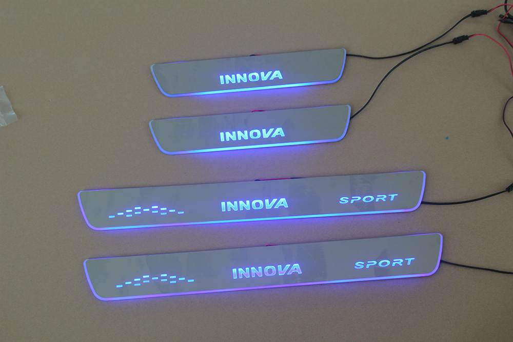 INNOVA  不锈钢面板流光灯  INNOVA RUNNING LIGHT DOOR SILL PLATE (stainless panel)